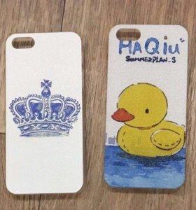 Чехлы на iPhone 5 5s SE для девочек
