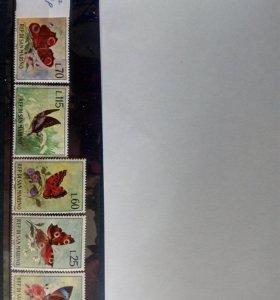 Набор марок. Сан Марино.1963 год