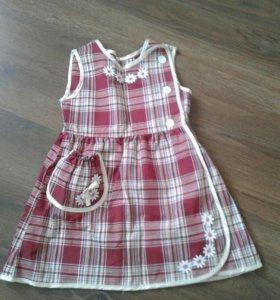 Новое хб платье