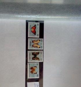 Набор марок Индия 1981 год