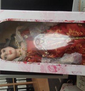 кукла коллекционная королева мария 40см