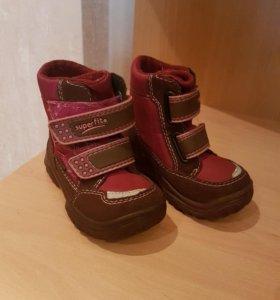 Зимние ботинки SuperFit р 23