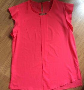 Караловая блуза
