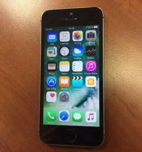 iphone 5S 35 GB space gray