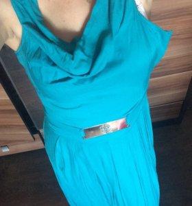 Платье в пол новое
