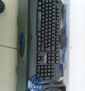 Клавиатура и мышь Qumo Spirit