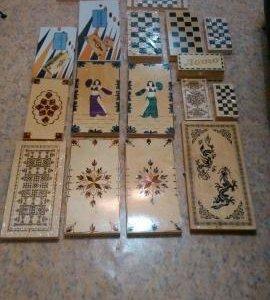 Шахматы шашки нарды