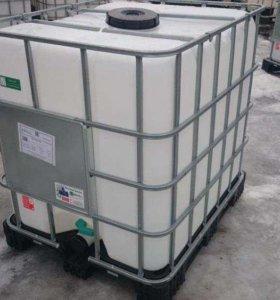 Пластмассовые Кубовые Евро-Ёмкости на 1.000 литров