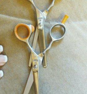 Проф. Ножницы для стрижки волос и филировочные.