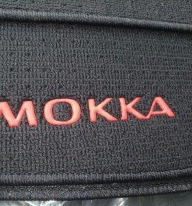 Opel Mokka ковры салонные велюровые