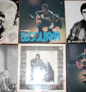 Коллекция виниловых пластинок - Владимир Высоцкий