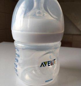 Бутылочка авент для новорождённых