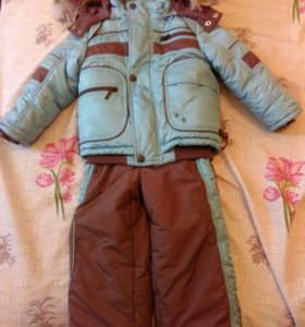 Зимний костюм р.98(+6)
