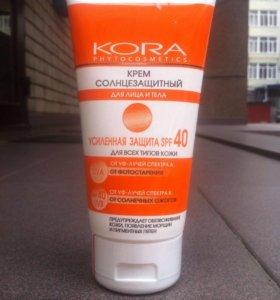 Солнцезащитный крем для лица и тела SPF 40