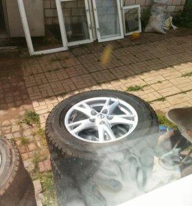 Комплект колес 16 нисан