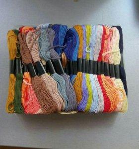 Нитки для вышивания