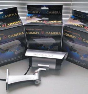 Муляж камеры видеонаблюдения с ик подсветкой