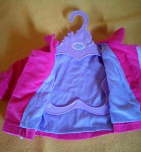 Пальто для куклы baby born