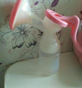 Ручной молокоотсос