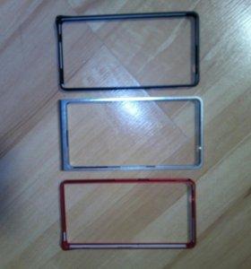 Бампер на телефон sony xperia z 3 compact
