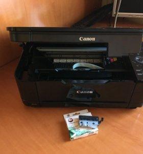 Принтер CANON MG 5140 + картриджи