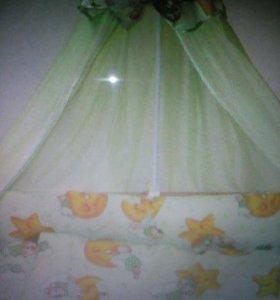 Комплект в кроватку для малышей, 0+