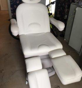 Кресло для педикюра с 3 моторами silver fox НОВОЕ