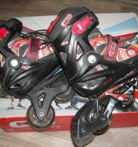 продам роликовые коньки раздвижные р 36-41