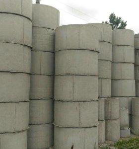 Кольца бетонные, жби