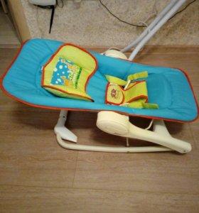 Шезлонг детский, качалка, стульчик