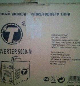 Инвертор сварочный Top DC inverter 5000M