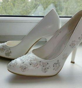 Свадебные туфли, р-р 37