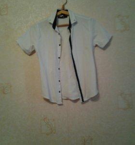 Рубашка мальчик 10 лет (s)