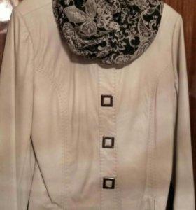 Новая кожаная куртка Chanel