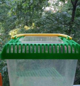 Переноска для птиц или хомяков