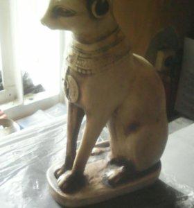 Статуэтка египетский сфинкс или кошка х,з.