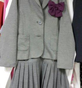 Школьный костюм р 128.