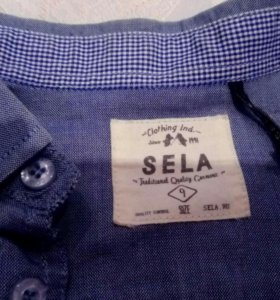 Стильные рубашки Sela