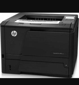 Принтер Laser Jet Pro 400 m 401 a