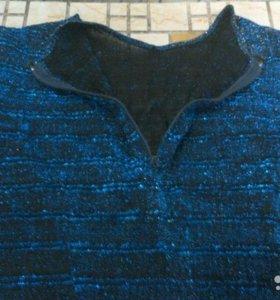 Блузка с люрексом. Женская
