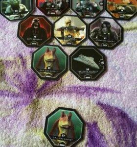 Звездные войны фишки и жетоны