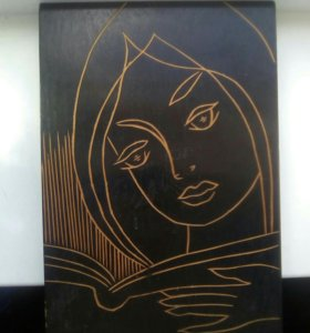 Картина Девушка с книгой