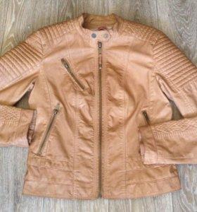Куртка кожаная Berhka новая