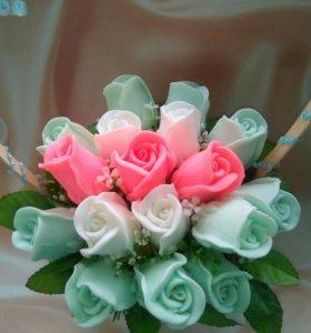 """Букет""""мыльных""""цветов."""