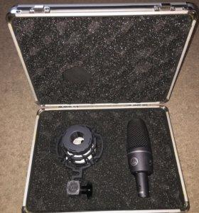 Продам студийный микрофон AKG C3000, ОТС!