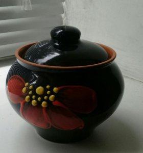 Термостойкая глиняная посуда