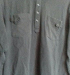 Мужская трикотажная рубашка