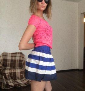 Юбка летняя , блузка