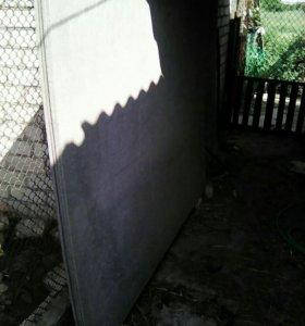 Шифер плоский 3×1.5×0.1 3 целых, 1- 2метра