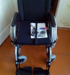 Новое прогулоч. Кресло коляска инвалидное. Новое